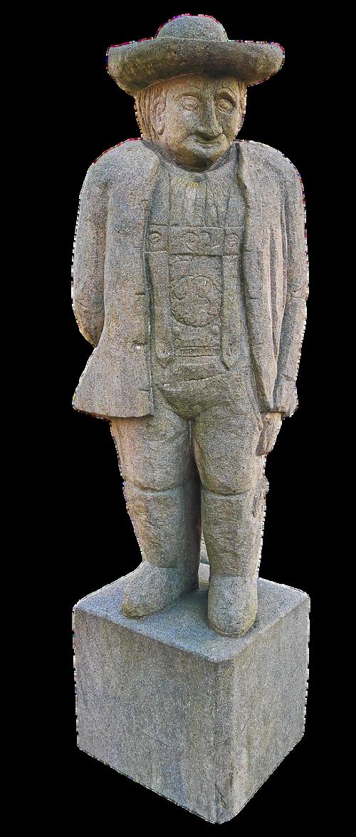 bauer stone figure sculpture