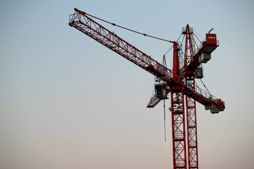 baukran load crane build