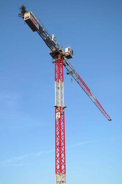 baukran crane build