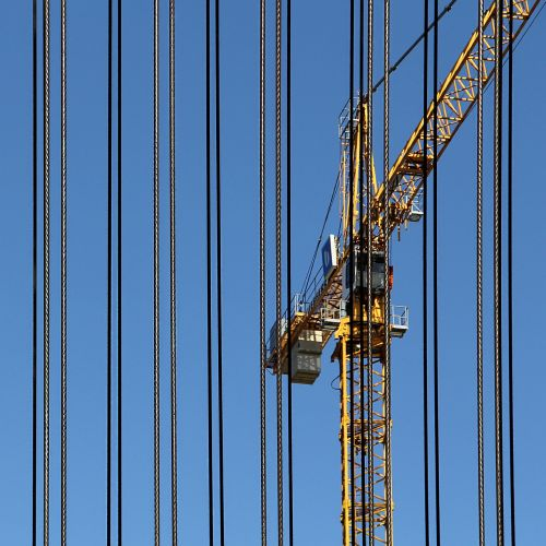 baukran crane wire
