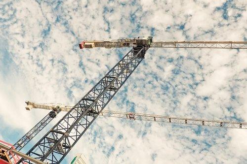 baukran  crane  build
