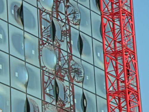 baukran crane glass