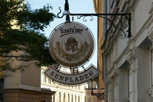 bautzen germany shopsign