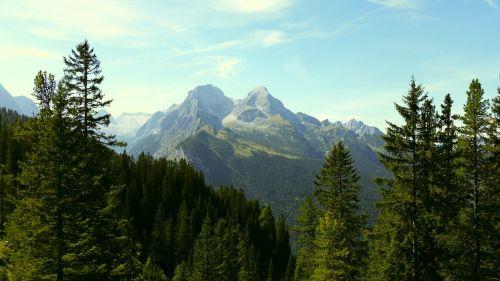 bavaria mountains alpine