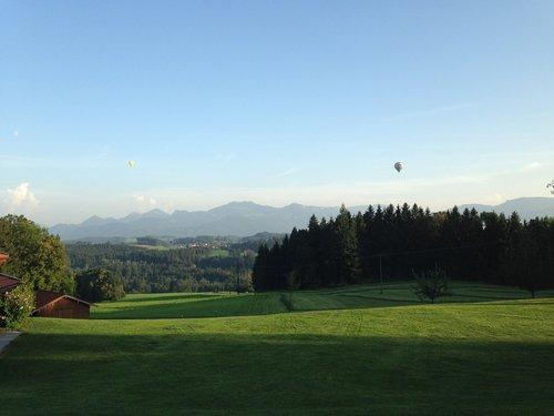 bavaria  mountains  meadow