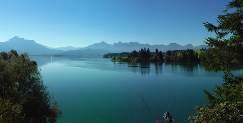 bavaria  allgäu  lake