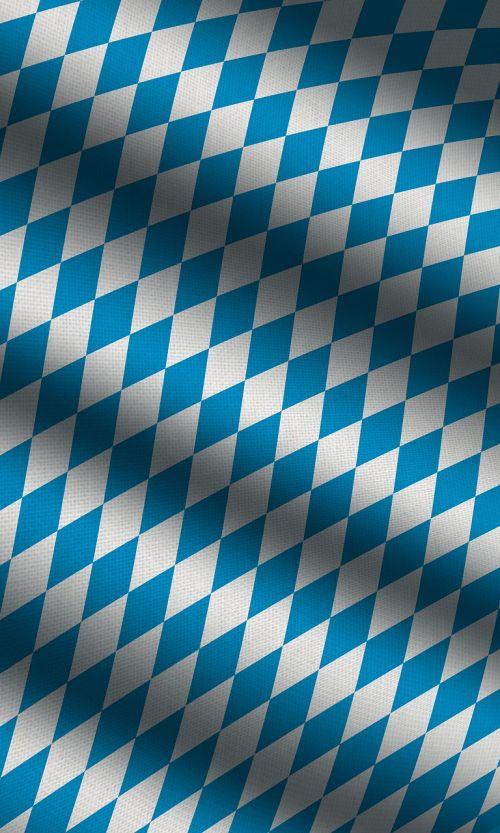 bavaria flag blue