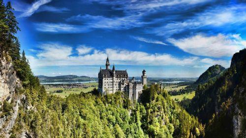 Bavarian Castle Neuschwanstein