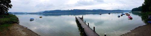 bay  the sail messenger  lake