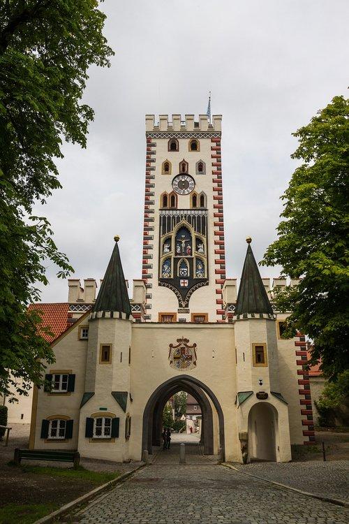 bayer gate  landsberg  lech