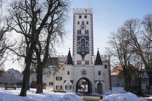 bayer gate  city  architecture