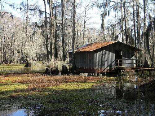 bayou swamp boathouse