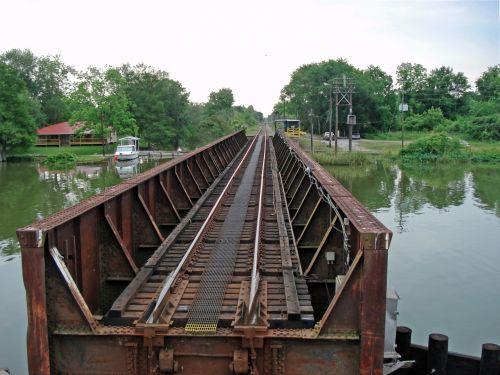 Bayou Boeuf Railroad Bridge