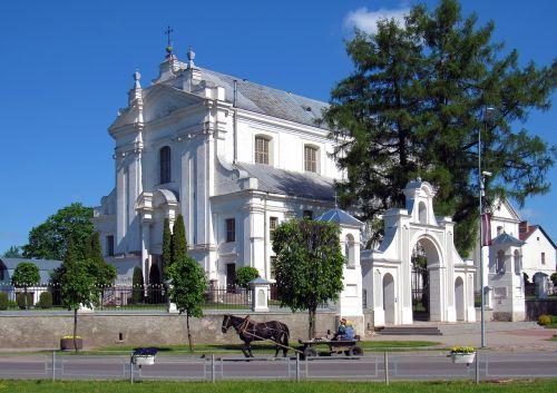 baznica church white