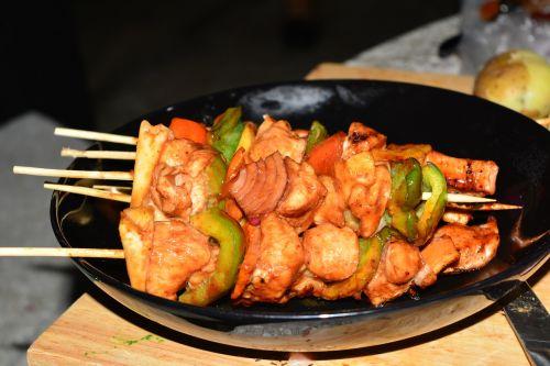 bbq food grill menu