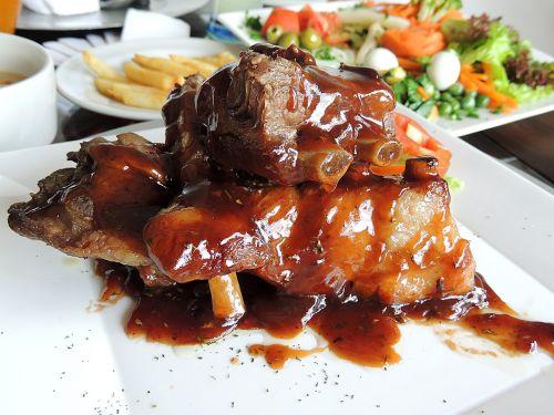 bbq ribs ribs meat
