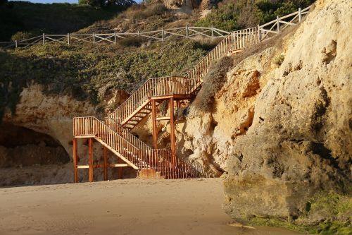 beach stairs costa vicentina