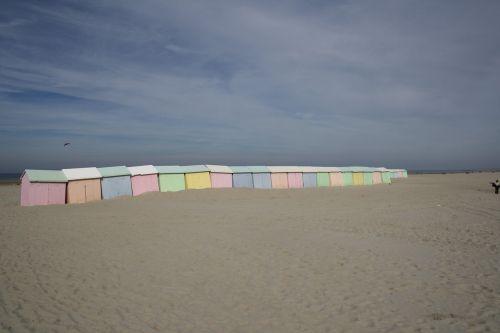 beach cabins bathing huts