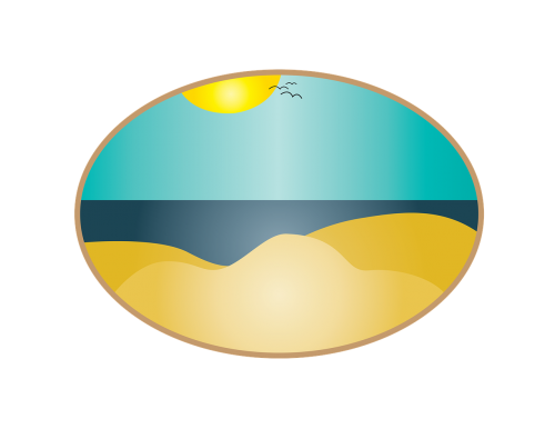 beach landscape ocean