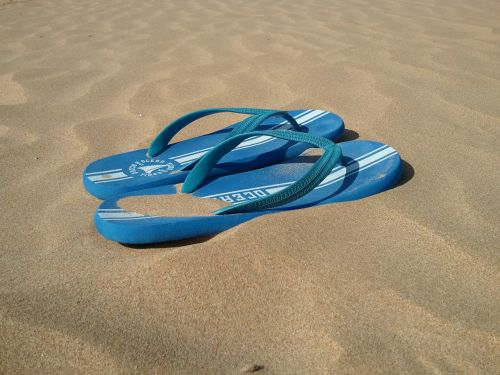 beach slippers holiday