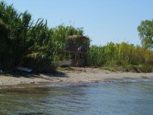 beach tower sea