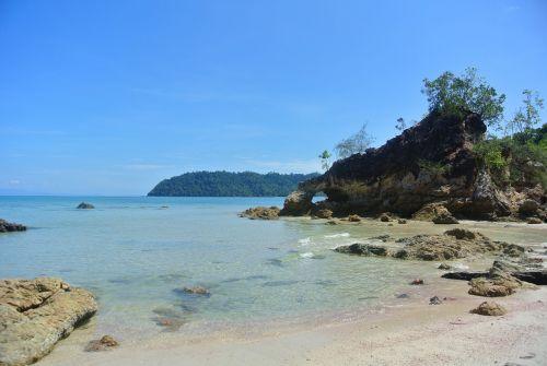 papludimys,Tailandas,jūra,vasara,kelionė,atogrąžų,smėlis,vandenynas,atostogos,gamta,sala,kurortas,vanduo,mėlynas,turizmas,dangus,kraštovaizdis,tajų