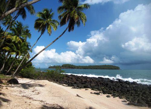 beach islands of salvation guyana