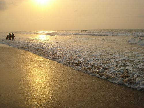 beach sunrise beautiful beaches