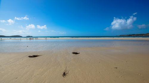 beach sky ebb