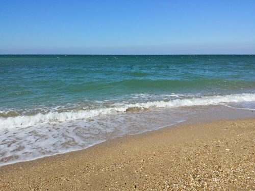 beach sevastopol crimea