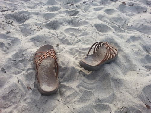 beach sandals vacation