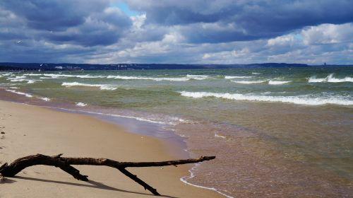 beach sea the baltic sea
