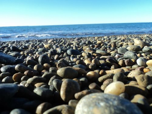 beach stones mar