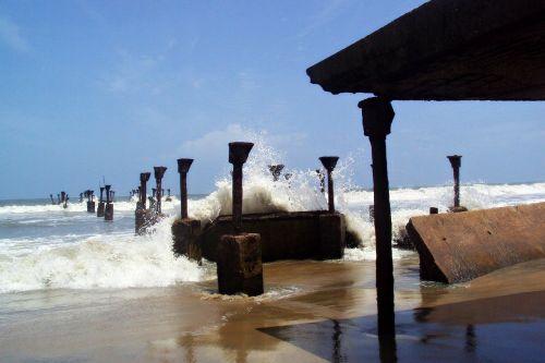beach sea arabian sea