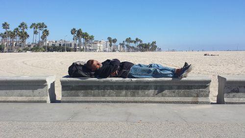 beach homeless venice beach