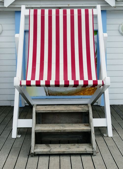 beach deck chair chair