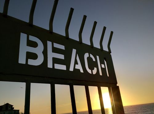 beach sunset san diego