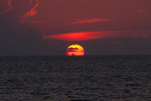 horizon sunset india