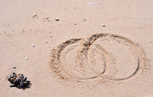 beach sand rings