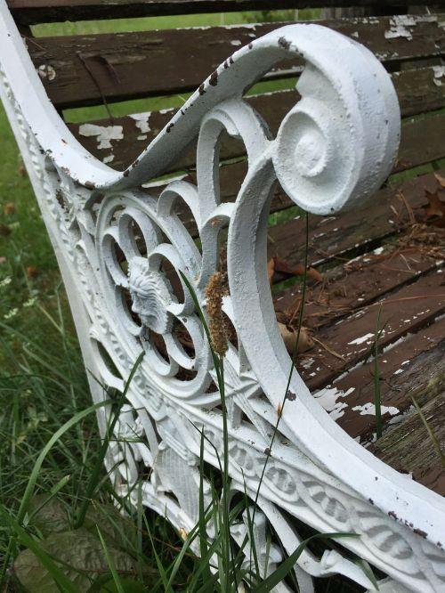 beach cast iron ornate