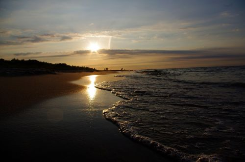 beach sea west