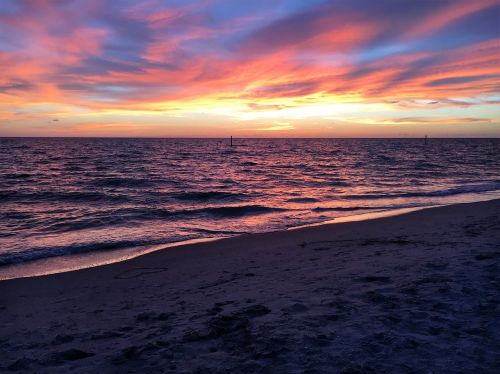 beach sunset beach sunset