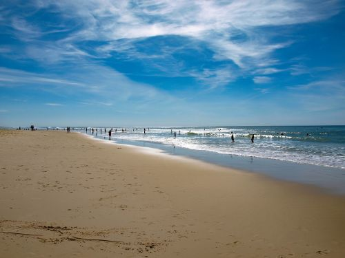 papludimys,vandenynas,smėlis,jūra,banga,Atlanto vandenynas,skalda,kraštovaizdis