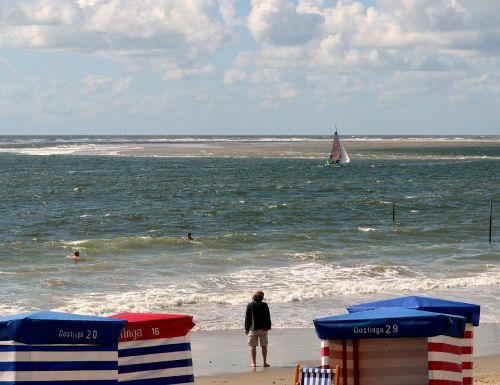 beach north sea borkum