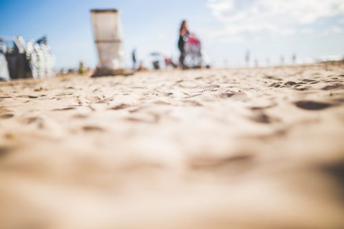 beach depth of field outdoors