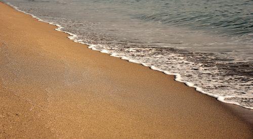 beach foam sardinia