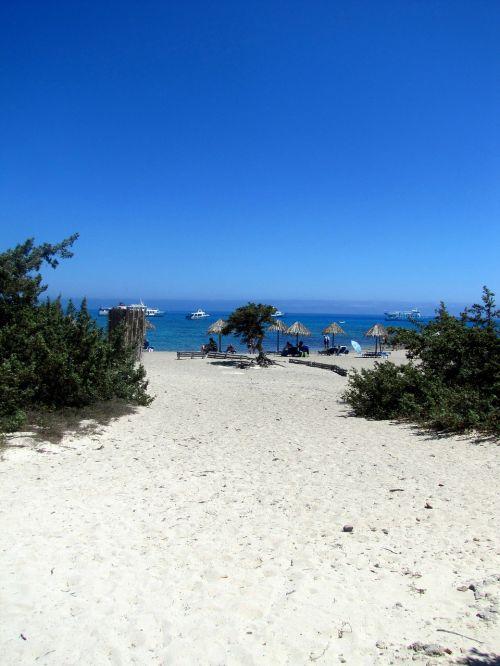 beach sand crissi island