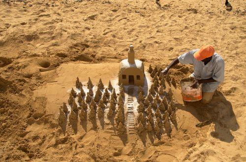 beach sand sand sculpture