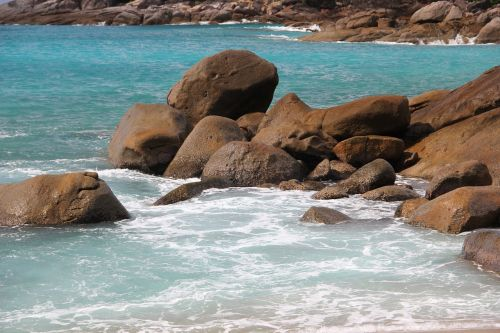 beach seychelles water