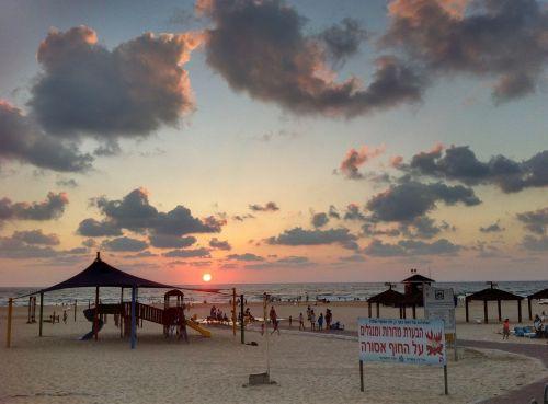 beach sea sunrise